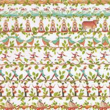 caspari wrapping paper entertaining with caspari 12 days continuous gift wrapping paper