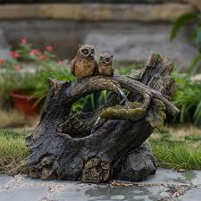 jeco inc resin fiberglass tree trunk owls reviews