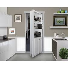 flush mount cabinet door package hidden door the murphy door