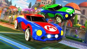 rocket league nintendo switch mario metroid cars