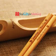 engraved chopsticks china personalized engraved wood chopsticks light brown