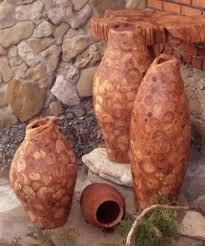 Log Vases Log Furniture And Decor Accessories Bringing Unique Designs Into