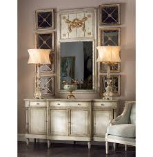 Buffet And Sideboard by Delphine French Country Two Tone Antique Taupe Grey Sideboard