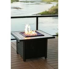 Hampton Bay Outdoor Fireplace - propane fire pits you u0027ll love wayfair