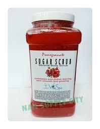 Scrub Viva nail supply citynail supply cityviva spa sugar scrub pomegranate