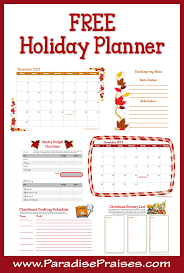 28 holiday planner template free holiday planner template event