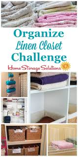 How To Arrange Pillows On King Bed How To Organize Linen Closet Or Cabinet