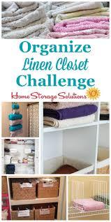 Organizing Closet How To Organize Linen Closet Or Cabinet
