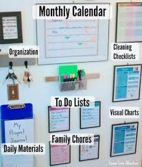 kitchen message center ideas best 25 family message center ideas on office wall