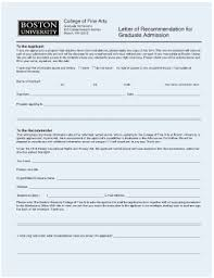 college recommendation letter forms and templates fillable