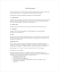 soap note example 8 samples in pdf word dap note progress