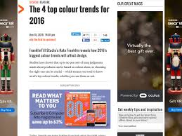 Popular Trends 2016 by Popular Design News And Trends To Finish Off 2015 With Kwik