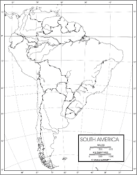 america outline map printable south america outline map 50 pack paper free shipping on maps