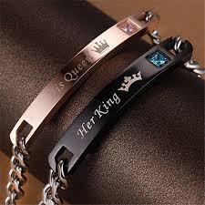titanium steel bracelet images Girl12queen girl12queen romantic her beast king his beauty queen jpeg