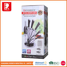 china supplier royal swiss knife set 8pcs chef stainless steel