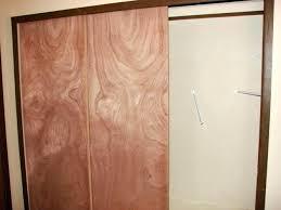 Interior Closet Sliding Doors Wooden Closet Doors Awesome Wood Closet Door Size Of Glass