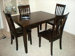 Teak Dining Room Furniture Imposing Ideas Dark Wood Tables Square Table Contemporary Teak