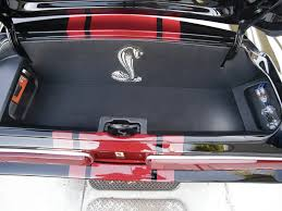 Black 68 Mustang Fastback Mdmp 1106 05 O 1968 Ford Mustang Fastback Trunk Interior Muscle