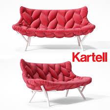 kartell sofa sofa kartell foliage 3d sofa cgtrader