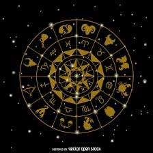 zodiac signs drawing vector download