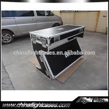 Dj Desk Rk Used Dj Desk Flight Case Laptop Stand Case Dj Portable Dj Table