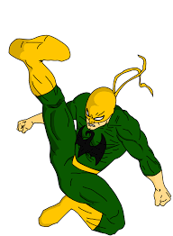 iron fist ultimate spider man cartoon serie style