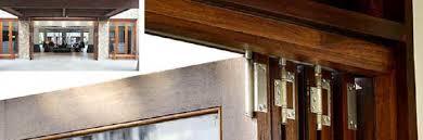 Wooden Bifold Patio Doors Folding Patio Doors Exterior Patio Doors That Stack To The Side