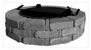 Rumblestone Fire Pit Insert by Firepits U2013 Landscapers Depot