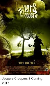 Creeper Meme Generator - what s eating you jeepers creepers 3 coming 2017 meme on me me