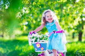 Cute Child by Happy Child Riding A Bike Cute Kid Biking Outdoors Little