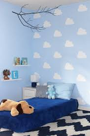 Design Own Wall Sticker Diy Cloud Stencil For Kid S Bedroom Stencil Painted Accent Wall