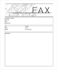 Construction Sheets Template Fax Cover Sheet Templates Fax Cover Sheet Template