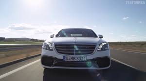 2018 mercedes amg s63 4matic driving youtube