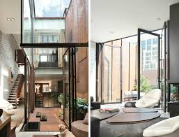 tribeca u0027inverted warehouse townhouse u0027 of concrete glass and