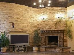 Corner Gas Fireplace With Tv Above by Download Stone Corner Fireplace Home Design