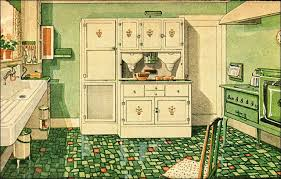 1920s kitchen 1929 green and white kitchen with built in cabinetry 1920s
