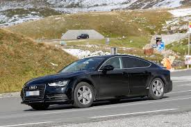 spyshots 2018 audi a7 chassis testing mule seen for the first