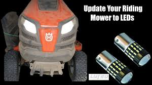 Craftsman Led Lig Update Your Riding Mower To Led Lights Luyed Youtube