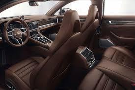 porsche panamera interior back seat 2018 porsche panamera sport turismo interior autobics