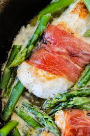 Asparagus Dishes Main Course - prosciutto wrapped chicken with asparagus the food charlatan