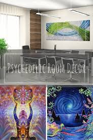 cool trippy and bold psychedelic room decor xpressionportal