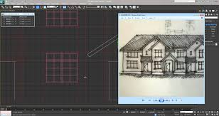 3ds max tutorial creating a model from a sketch 1080 hd youtube