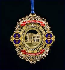 White House Christmas Ornaments Collection by The 2015 Official White House Christmas Ornament Honors President