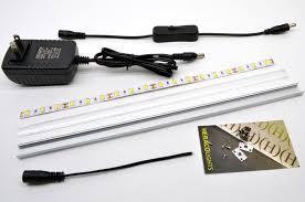 diy led lighting cheap and easy under shelf led light project