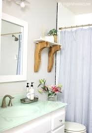 how to add a frame to your bathroom mirror my frugal adventures