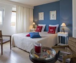 chambre bleu et blanc photos déco idées décoration dans les tons bleu deco