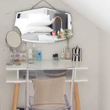 Antique Vanity Mirror Bedroom Furniture Wooden Frame Mirror Wooden Makeup Table Vanity