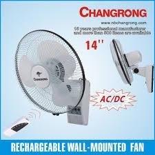 14 inch wall fan 14 inch wall mounted rechargeable ceiling fan with light battery