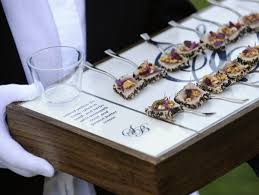 canapes for tuna carpaccio canapes for weddings and events banquetingmap