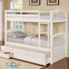 kamryn twin bunk bed with trundle and storage u0026 reviews birch lane